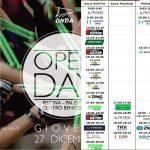"""27 dicembre: giornata """"Open Day"""""""